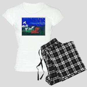 Star Gazer Dragon Women's Light Pajamas