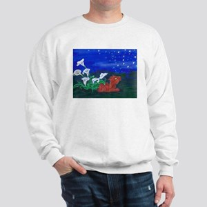 Star Gazer Dragon Sweatshirt