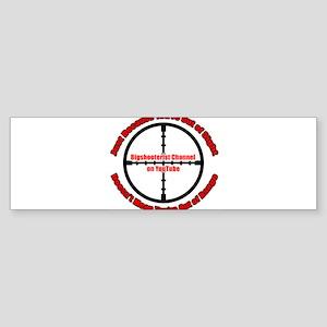 Bigshooterist Logo Sticker (Bumper)
