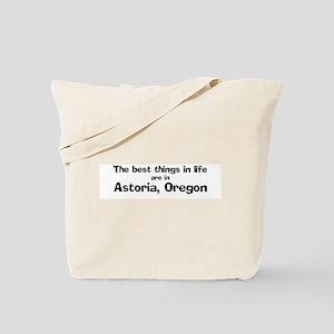 Astoria: Best Things Tote Bag