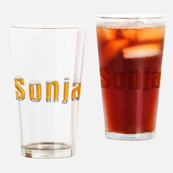 Sonja Beer Drinking Glass