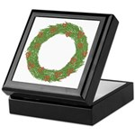 Christmas Wreath Wooden Box