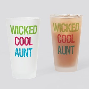 WickedCoolAunt Drinking Glass