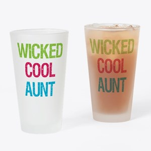 WickedCoolAunt.png Drinking Glass