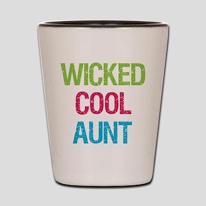 WickedCoolAunt Shot Glass
