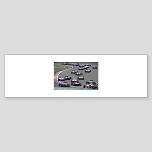 F1 Sticker (Bumper)