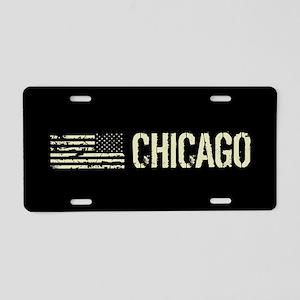 Black Flag: Chicago Aluminum License Plate