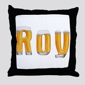 Roy Beer Throw Pillow