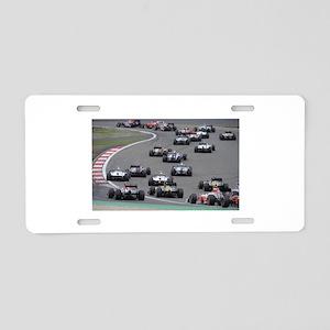 F1 Aluminum License Plate