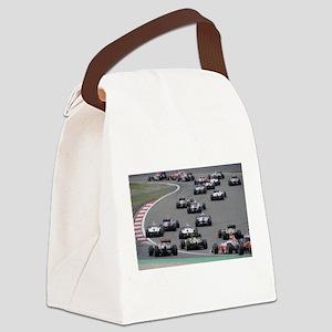 F1 Canvas Lunch Bag