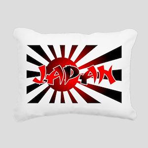 Japanese Flag Rectangular Canvas Pillow
