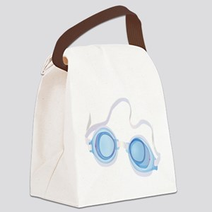 Swimming Goggles Canvas Lunch Bag