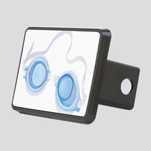 Swimming Goggles Rectangular Hitch Cover
