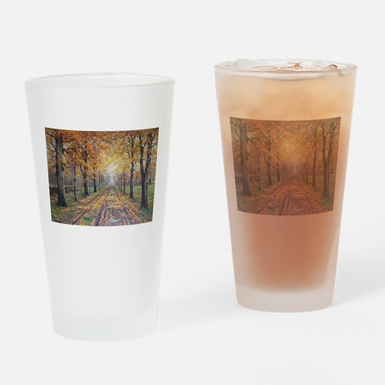 Life in the Slow Lane Drinking Glass