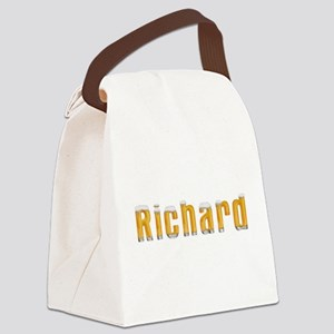 Richard Beer Canvas Lunch Bag