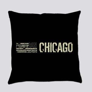 Black Flag: Chicago Everyday Pillow