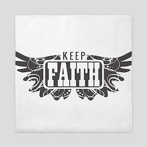 Keep Faith Queen Duvet