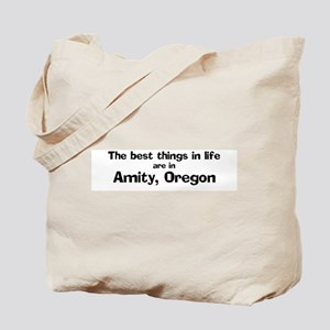 Amity: Best Things Tote Bag