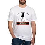 TSK logo plus dog Fitted T-Shirt