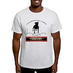 TSK logo plus dog Light T-Shirt
