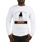 TSK logo plus dog Long Sleeve T-Shirt