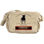TSK logo plus dog Messenger Bag