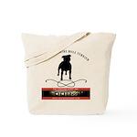 TSK logo plus dog Tote Bag