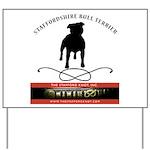 TSK logo plus dog Yard Sign