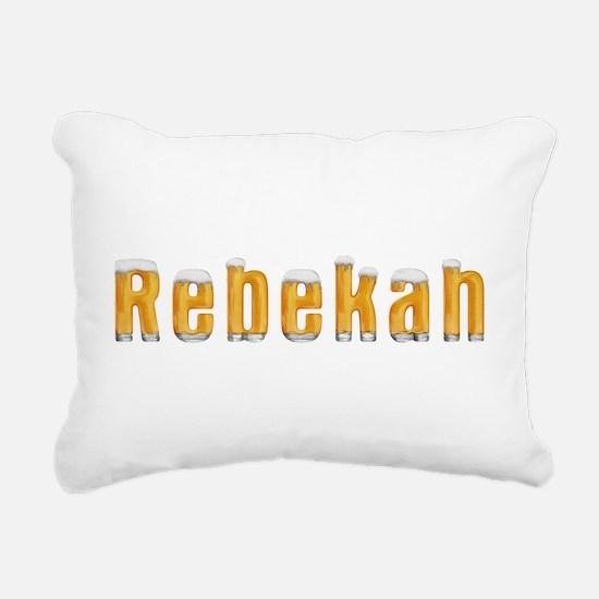 Rebekah Beer Rectangular Canvas Pillow