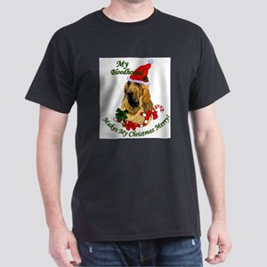 Bloodhound Christmas Dark T-Shirt