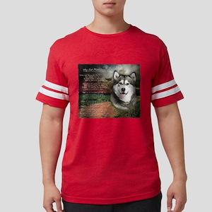godmadedogs Mens Football Shirt