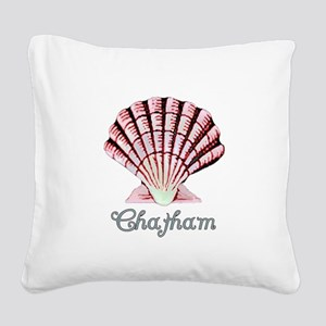 chathamshell Square Canvas Pillow