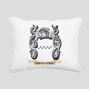 Crawford Family Crest - Rectangular Canvas Pillow