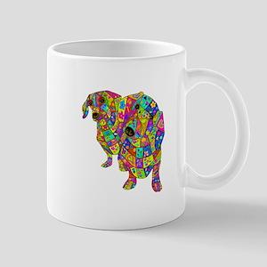 Designed Color Doxies Mug
