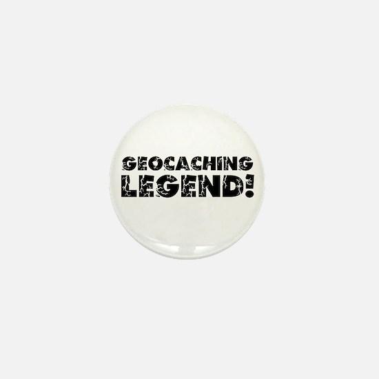 Geocaching Legend Mini Button