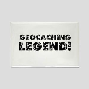 Geocaching Legend Rectangle Magnet