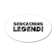 Geocaching Legend Wall Decal