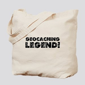 Geocaching Legend Tote Bag