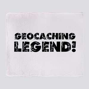 Geocaching Legend Throw Blanket