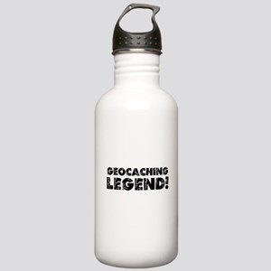 Geocaching Legend Stainless Water Bottle 1.0L