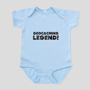 Geocaching Legend Infant Bodysuit