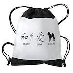 chinesepeace Drawstring Bag