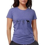 chinesepeace Womens Tri-blend T-Shirt