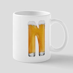 N Beer Mug