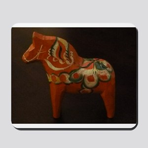 Dala Horse Foundation Mousepad