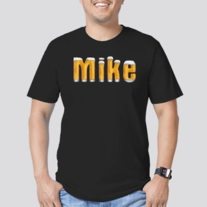 Mike Beer Men's Fitted T-Shirt (dark)