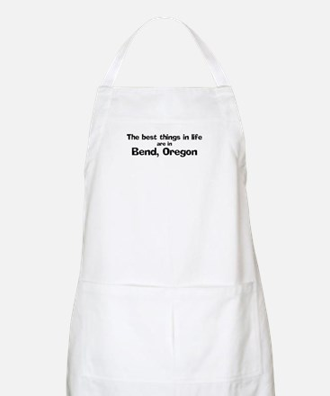 Bend: Best Things BBQ Apron