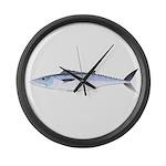 King Mackerel fish Large Wall Clock