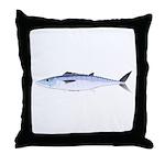 King Mackerel fish Throw Pillow