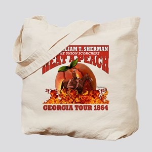 Gen. Sherman 'Heat a Peach' Tote Bag